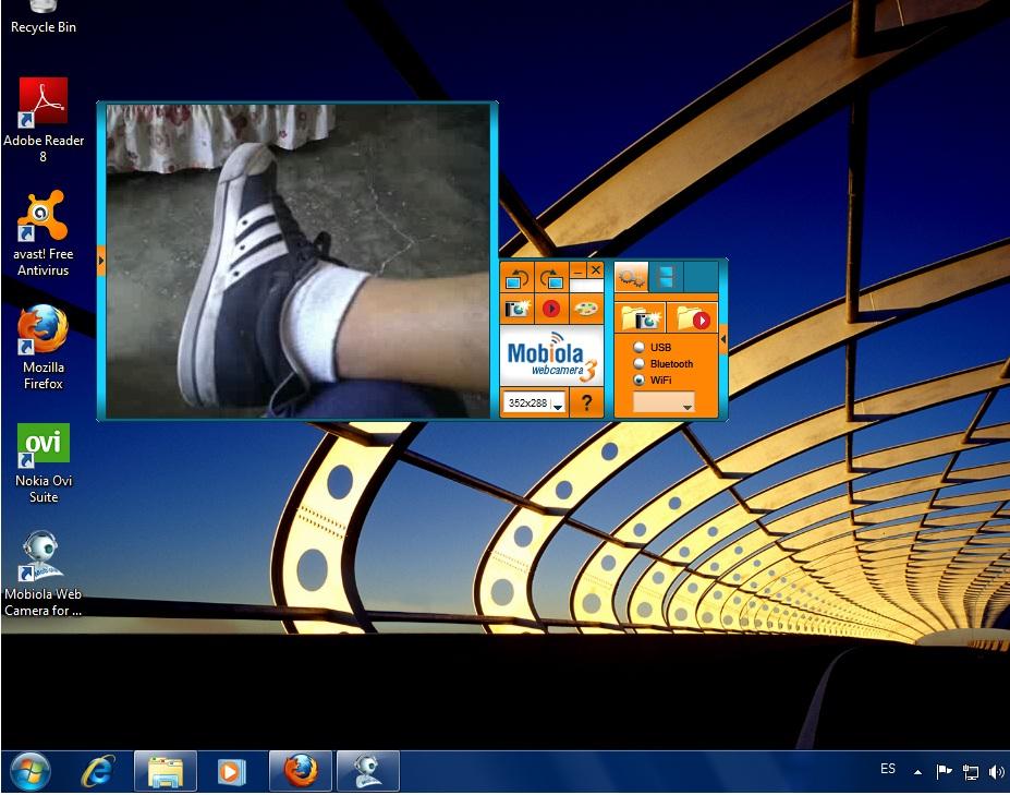 Mobiola webcam s60