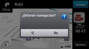 Navegación GPS N8